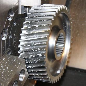 Gear Cutting on a Doosan